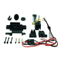 4WD Four-wheel Drive Metal RC Rock Crawler Winch for WPL C-34K Accessories