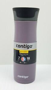 Contigo AUTOSEAL West Loop Vacuum-Insulated Stainless Steel 20 oz., Dark Plum