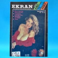EKRAN 1555 | 25.-31.03.1988 | VR Polen FF Dabei | Danuta Tiffany M. Jakowlewa