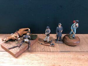 Imrie Risley: Civil War Troops. 54mm Metal Models
