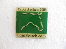 WEG Aachen 2006 Hat / Lapel Pin EquiSearch.com Free Shipping!
