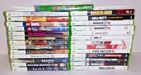 Lot Of 27 Microsoft Xbox 360 Video Games Complete CIB Tested Halo 4, Lego & More