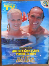 TV Sorrisi e Canzoni n°31 1987 Pippo Baudo Ricciarelli Zucchero  [D41]