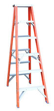 INDALEX Pro Series Fibreglass Double Sided Step Ladder 4ft 1.2m