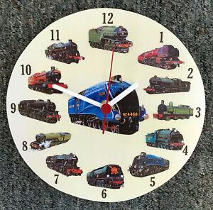 Steam Train Clock - Flying Scotsman Clock - The Mallard Train LS0020-C