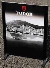 Espositore alzata verticale bifacciale TUDOR ORIGINALE nuovo da vetrina 4 foto
