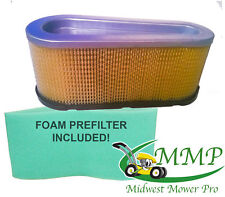 Air Filter Plus Pre-Filter Replaces Briggs & Stratton 496894S 493909S 272403S