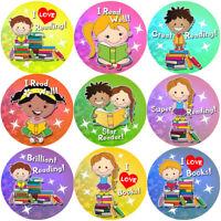 144 Reading Awards 30 mm Reward Stickers for School Teachers, Parents, Nursery