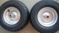2 Dixie Chopper OEM Complete Front Wheels With 13x6.5-6 Motorcycle Tire 400438