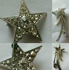 Stars Vintage Costume Brooches/Pins (1970s)