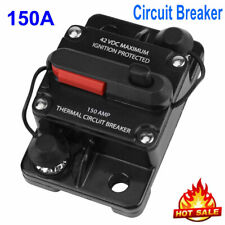150A AMP Circuit Breaker Car Marine Stereo Audio Inline Replace Fuse 12V-42V USA