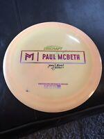 DISCRAFT Paul Mcbeth (Zeus) 173. Signed By Jeremy Stewart.