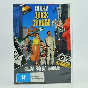 Quick Change Bill Murray Geena Davis Randy Quaid Rare DVD 2006 VGC