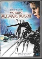 DVD ZONE 2--EDWARD AUX MAINS D'ARGENT--DEPP/BURTON/RYDER/WEST