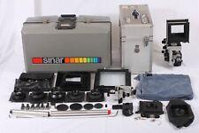 AMAZING SET ALMOST MINT SINAR P 8x10 4x5 Large format + 5 Lens Bonus From Japan