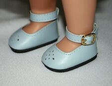 Shoes Light Blue 14 in Wellie Wishers Doll American Girl Accessory Clothes