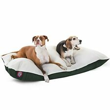 42x60 Green Rectangle Pet Dog Bed By Majestic Pet Products Extra Large