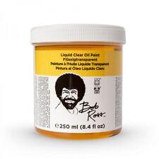 Bob Ross Liquid Medium 8 oz Bottle - Clear **Set Of 3 Jars**