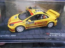 PEUGEOT 307 WRC Rallye Argentina WM 2006 #25 Galli Pirelli IXO Altaya S!P 1:43