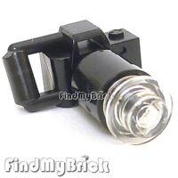 U027A Lego Minifigure Black Long Telephoto Zoom Lens Camera with Handheld NEW