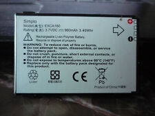 HTC EXCA160 Rechargeable Li-Ion Polymer Battery 4.2V 960mAh for S620 S621
