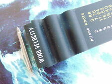 NOS CITIZEN 22MM FAT SPRING BARS 4 STRAIGHT VENT DIVER'S RUBBER WATCH BAND STRAP