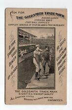 Early 1900's, Nicely Illustrated Goldsmith Baseball Scorecard