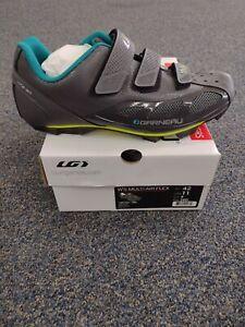 Louis Garneau Women's Multi Air Flex Gray Cycling Biking Shoes Size EU 42