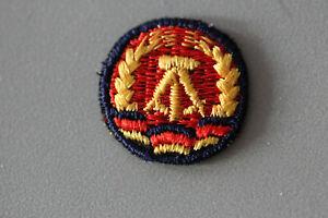 orig. DDR Emblem Aufnäher aus Stoff NVA  für Schiffchen Mütze