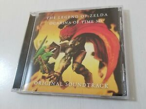 Nintendo The Legend of Zelda Ocarina of Time 3D Soundtrack CD + Obi Japan 428A14