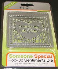 "TONIC STUDIOS VERSO - POP UP SENTIMENT DIE SET ""SOMEONE SPECIAL""  3 DIES"