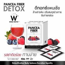 6 X Pancea Fiber Detox Drink Reduce Belly, Detoxification Whitening Skin Clear A