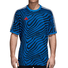 Adidas Originals Tango Icon Men's Soccer Jersey Blue-Legend ink-White cz4119