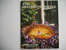 The Decorative Painter Magazine Issue #4, Jul/Aug 1987,Welcome My Friend