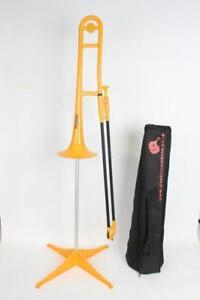 PLASTIC Tromba Trombone (yellow)
