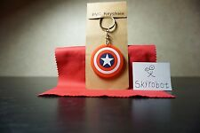 3 day ship captain american silicone keychain rubber key chain gift new