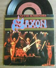 SP SAXON Rock Hard Rock 80' Never .. ETAT TB