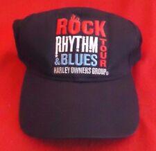 Harley Davidson Owner Group ROCK RHYTHM & BLUES TOUR Baseball Golf Hat Cap