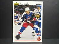 2019-20 UD Series 1 30 Years Kevin Hatcher Canada Cup USA #'d 1/1 UD 1991-92