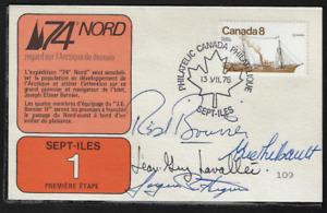Canada Souvenir Signed Card — 1976, Coastal Vessels: Quadra #673 Lot 703