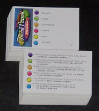 Trivial Pursuit Junior Jr 5th Edition trivia game cards for kids 2001 Hasbro