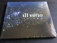 ILL NINO  ENIGMA  CD ALBUM DIGIPAK NEW AND SEALED PLUS BONUS EP.  A1