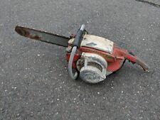 Vintage Remington Bantam Chainsaw Big Saw For Parts