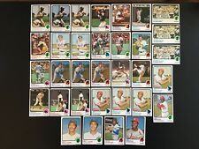 1973 Topps Baseball HOF Lot  - 33 Card Lot - VG+ to EXMT Clemente, Mays, Others
