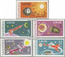Albania 779-783 (complete issue) used 1963 Lunare + interplanet