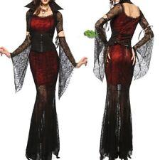 Gothic Vampire Queen Costume Adult Victorian Masquerade Halloween Fancy Dress