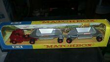 Matchbox Lesney, K4,Fruehauf Hopper Train, 1/43, NMIB