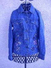 Denim & Co. Women's Regular 100% Cotton Jean Coats & Jackets
