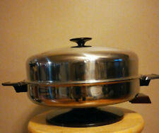 💯THE WEST BEND CO COMPLETELY IMMERSIBLE ELECTRIC SKILLET DOME LID 1000W JAPAN