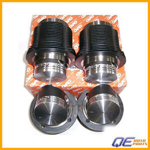 Volkswagen Thing Beetle Fastback Campmobile Engine Piston Set QSC 031119806990QS